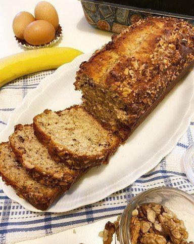 Banana bread Filippo's bakery