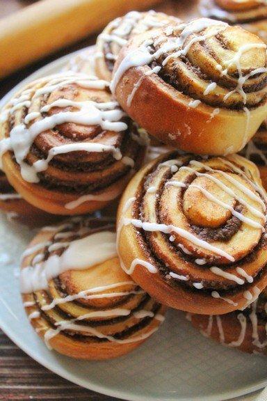 cinnamon rolls by filippo's bakery