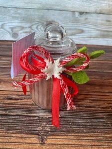 cioccolata calda gift in a jar