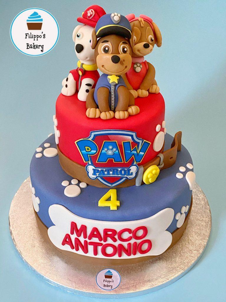 paw patrol filippo's bakery